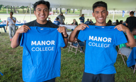 manor college t-shirts