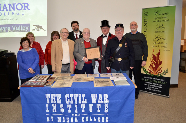 Manor College launched the Military History Institute on March 6, 2018