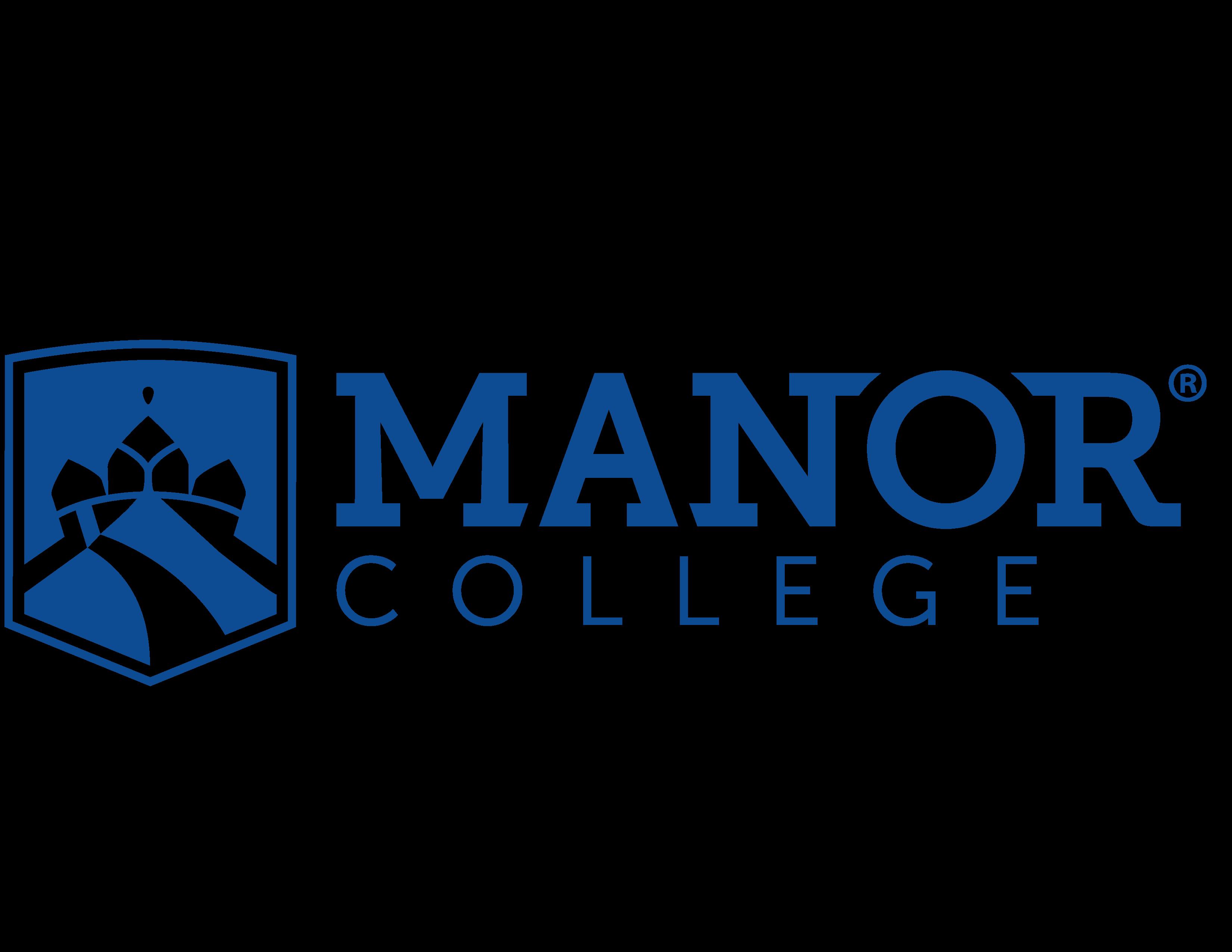 Registered Manor 16 College Logo Horizontal Pms293c 01 1 Manor