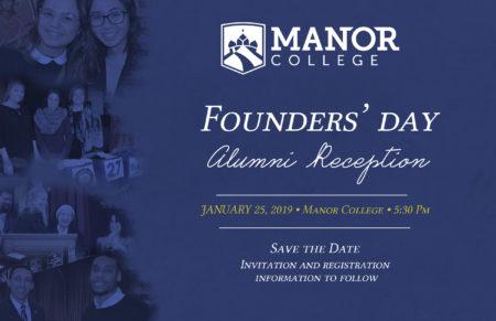 Manor College Founders' Day, Alumni Reception - Jan 25, 2019
