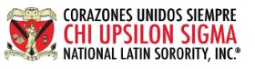 Chi Upsilon Sigma logo
