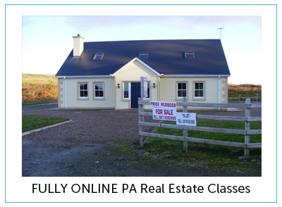 fully online real estate classes at manor college