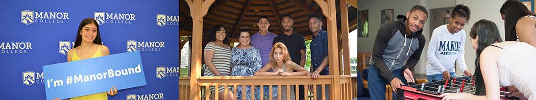 freshmen at Manor College