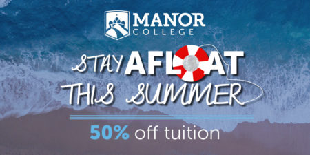 Manor College offers discount on summer courses