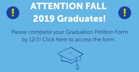 graduation petition form