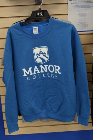Manor College sweatshirt
