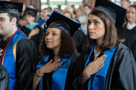 Manor college graduate