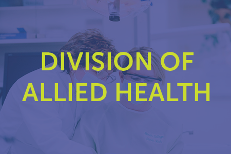 Division of Allied Health