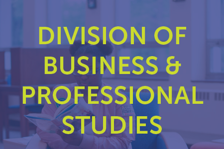 Division of Business and Professional Studies
